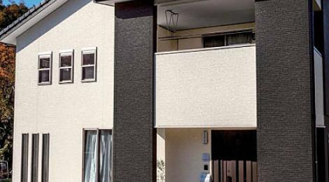 Фасадная панель KMEW с текстурой под камень
